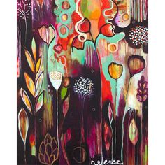 <strong>GreenBox Art</strong> Release by Flora Bowley Painting Print on Wrapped Canvas