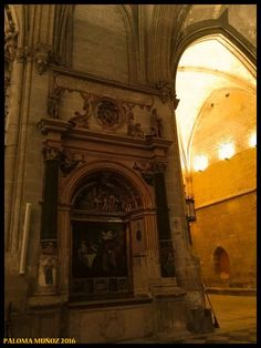 Catedral de Palencia. Otro de sus hermosos rincones. Cathedral of Palencia Beautiful corner