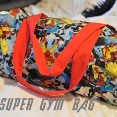 SUPER! Gym Bag