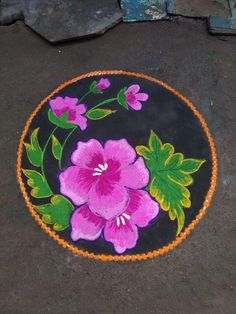 Small Rangoli Design, Rangoli Designs Diwali, Diwali Rangoli, Beautiful Rangoli Designs, Simple Rangoli, Flower Garland Wedding, Flower Garlands, Sleeves Designs For Dresses, Sleeve Designs