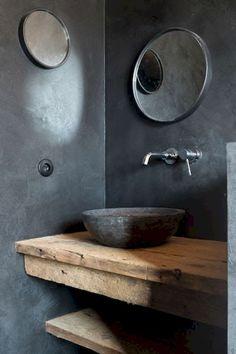 Adorable 95 Best Farmhouse Bathroom Decor Ideas https://homeastern.com/2018/02/01/95-rustic-farmhouse-bathroom-decor-ideas/