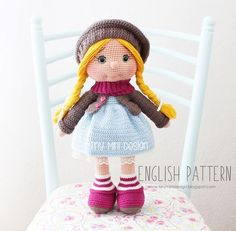 Amigurumi Tonton Doll-Free Pattern | Amigurumi Free Patterns | Bloglovin'