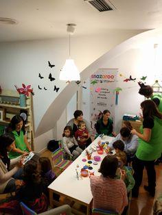 """Distrutando del pintacaritas en """"Convierte tu miedo en COLORES"""" en La Luciérnaga"""