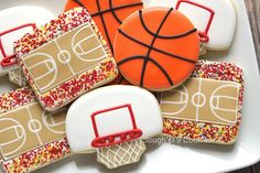New Birthday Cupcakes Boy Sports Sugar Cookies 65 Ideas Fancy Cookies, Cut Out Cookies, Iced Cookies, Cute Cookies, Royal Icing Cookies, Cupcake Cookies, Sugar Cookies, Crazy Cookies, Sprinkle Cookies