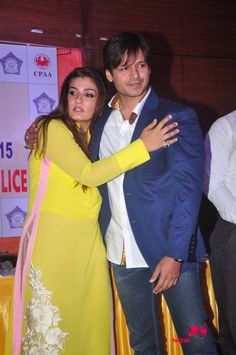 Vivek and Raveena At CPAA Anti-tabacco Police Campaign Launch