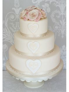 """Marabelle Wedding Cake"" by The Liggy's Cake Company"