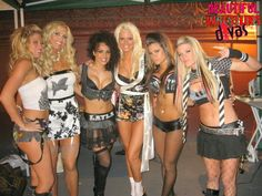Kellykelly Torrie Wilson Layla Maryse Brooke Adams & Ashley Massaro