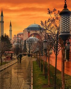 Hagia Sofia Istanbul Türkei - Semra S. Places Around The World, Around The Worlds, Wonderful Places, Beautiful Places, Hagia Sophia Istanbul, Places To Travel, Places To Visit, Turkey Country, Istanbul Travel