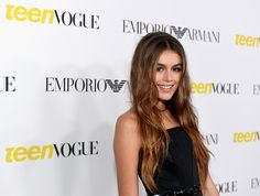 Cindy Crawford's lookalike daughter Kaia Gerber stuns at 'Teen Vogue' party