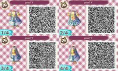 Animal Crossing New Leaf QR codes {Stumbled upon these light overalls and now I can't wait to wear it in the summer!  Follow the link below for more shirt colors :) } http://acnlfashion.tumblr.com/post/55992965234/source