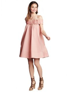 Dress that Bump to the Nines with these Chic Baby Shower Dresses - http://www.stylemepretty.com/living/2016/07/21/dress-that-bump-to-the-nines-with-these-chic-baby-shower-dresses/