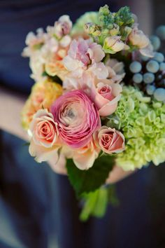 Ranunculus Bouquets | Dallas Wedding and Event Florist | Dr Delphinium