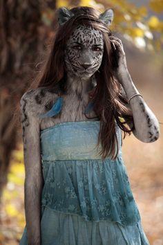Blue Dress Pard by wayne25611001