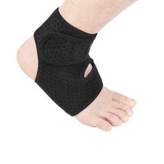 Unisex Ankle Brace Sport Gym Compression Foot Sleeve Injury Recovery Personal Care and Fitness Protector UPS Post *** To view further for this item, visit the image link.