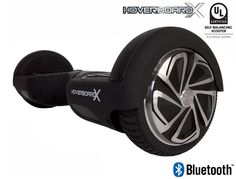 HoverboardX HBX-2 Matte Black UL 2272 Certified with Bluetooth