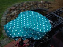 Fahrradsattelbezug  kuschelig und regenfest