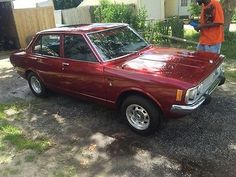 1973 Toyota Corona Corona Toyota Corona, Cars, Sweet, Crowns, Candy, Autos, Car, Automobile, Trucks
