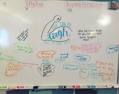 We are one tough class! Classroom Whiteboard, Leadership, Morning Activities, Writing Activities, Daily Writing Prompts, Bell Work, Responsive Classroom, Classroom Community, Future Classroom