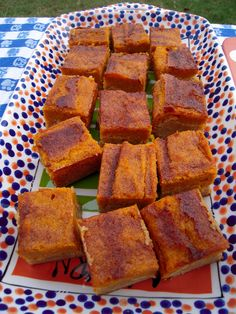 Pumpkin Pie Snickerdoodle Bars - Yes, I will be making these.