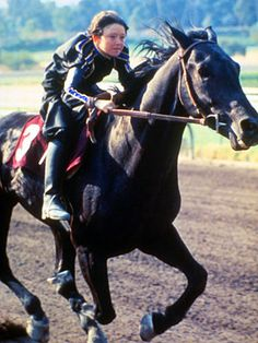 The Black Stallion starring the show champion,Arabian stallion, Cass Ole, and… Black Stallion Movie, Horse Background, Horse Movies, Tv Westerns, Black Horses, Famous Movies, Creature Feature, Horse Breeds, Horseback Riding