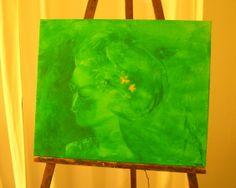 """Ella serie """"Chromatismes"""" acrylique sur toile"""