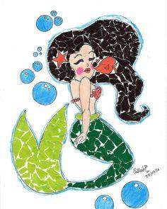 Week 29 : Collage - Mermaid