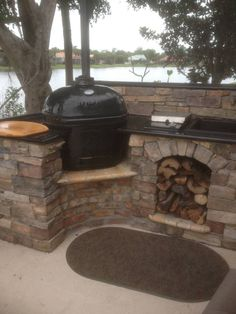 New Counter Sink faucet and gas Burner for our XL - Primo Grill Forum Gallery