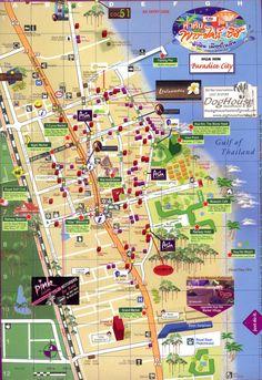 Hua Hin Tourist Map