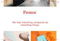Clean Web Design Layout // #WebDesign #Minimal http://fuzzco.com/