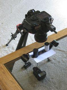 Оцифровка негативов с помощью фотокамеры