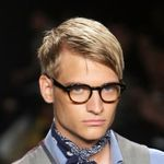 These are my favorite men's haircuts from Mercedes-Benz Fashion Week Spring 2010 -- on and off the runway. Some of these men's haircuts are trendy, while some are classic -- but every one of them is high fashion.