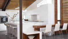 Cuisine armoires and armoire de cuisine on pinterest - Gonthier cuisine et salle de bain ...