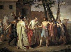 Ribera, Cincinato abandona el arado para dictar leyes a Roma