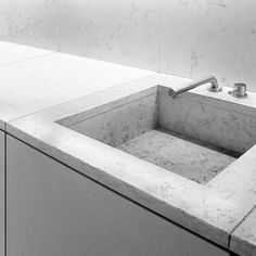 The Henry Timi HT 506 kitchen. I like the lines of this integrated sink with the counters / cupboards. Brushed tap is interesting but not ideally shaped for a functional kitchen sink tap.