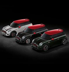 Red contrasting roof & mirrors are reserved for John Cooper Works models.