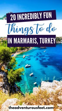 Traveling to Marmaris, Turkey and wondering what to do? Here are incredible things to do in this Mediterranean resort town.| Things to do in Marmaris, Turkey| Marmaris things to do| tourist attractions in Marmaris| Activities to do in Marmaris | Marmaris Turkey things to do| what to do in Marmaris| what to see in Marmaris| Incredible places in marmaris| tourist spots in Marmaris #thingstodoinmarmaris #marmaristurkey #funactivitiestodoinmarmaris #marmaristurkey Oh The Places You'll Go, Cool Places To Visit, Places To Travel, Instagram Inspiration, Travel Inspiration, Asia Travel, Travel Abroad, Wanderlust Travel, Amazing Destinations