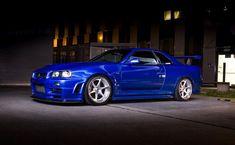 Nissan Gtr R34, Amazing Cars, Awesome, Nissan Gtr Skyline, Nissan Silvia, Godzilla, Jdm, Cool Cars, Dream Cars