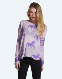Buy Monokeros Knitted Jumper at Drop Dead Clothing #DDXMASWISHLIST