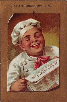 Bensdorp & Co. Cacao - Vintage Ad