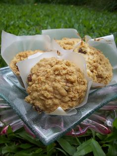 Pear Crumble Breakfast Muffin