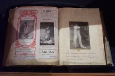 Mata Hari scrapbook in the Frisian Museum, Leeuwarden, The Netherlands Mata Hari, Irena Sendler, George Sand, French Government, Dutch East Indies, One Hundred Years, Tribal Belly Dance, French Army, Iconic Women