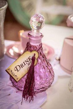 Drink Me Vial from an Alice in Wonderland Tea Party via Kara's Party Ideas | KarasPartyIdeas.com (12)