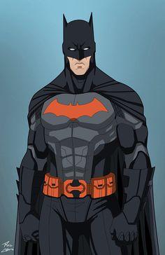 Batman (E-27 edit) Thrillkiller by phil-cho