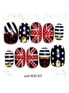 SHAGADELIC - Dot Union Jack #nail
