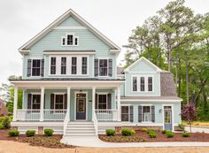Modern Farmhouse with L-Shaped Porch - 30082RT | Country, Farmhouse, Traditional, Photo Gallery, 2nd Floor Master Suite, Butler Walk-in Pantry, CAD Available, Den-Office-Library-Study, PDF, Wrap Around Porch, Corner Lot | Architectural Designs