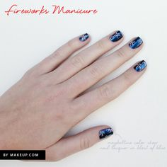 Manicure Monday: 3 Fourth of July Manicures to Get You in The Spirit
