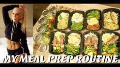HOW I MEAL PREP | Recipes | Girly Gains - YouTube