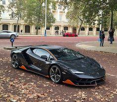 Lamborghini Centenario in autumn
