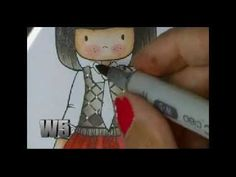 Easy Argyle with COPIC markers tutorial on Whimsie Doodles blog