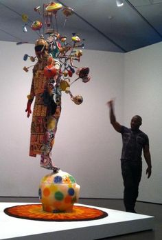 Nick Cave Leads Preview of Nick Cave: Sojourn (Photos) | Denver Art Museum